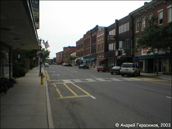 Downtown of Waterville
