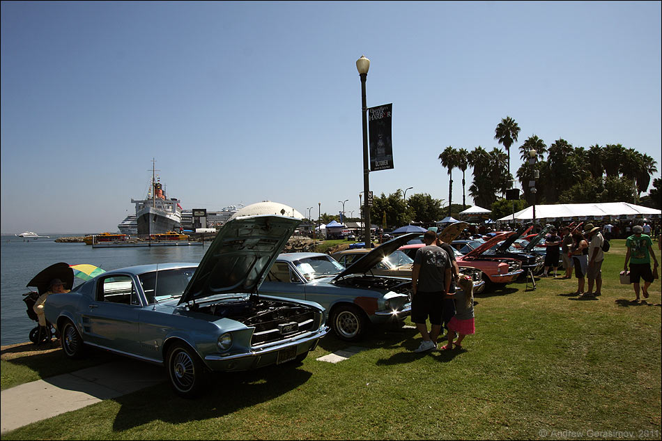 Mustangs at the Queen Mary 2011