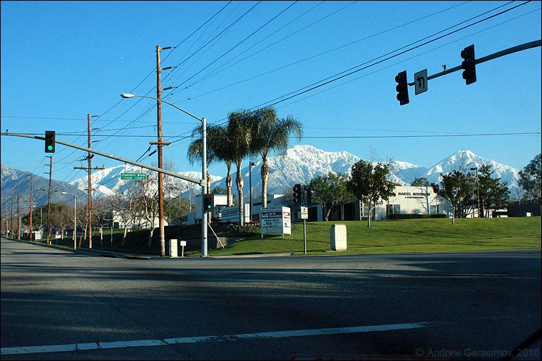 фото лос-анджелес зимой